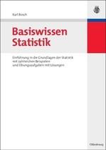 Basiswissen Statistik | Bosch, 2007 | Buch (Cover)