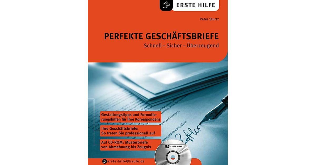 Perfekte Geschäftsbriefe Sturtz 2003 Buch Beck Shopde