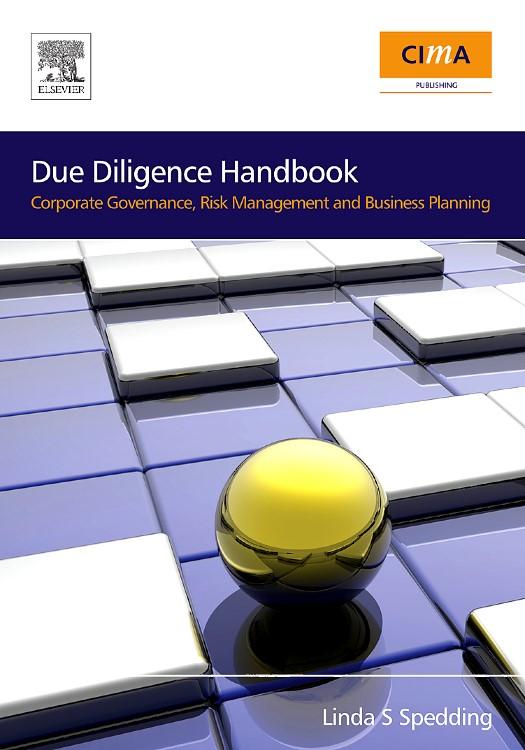 Abbildung von Due Diligence Handbook   2008