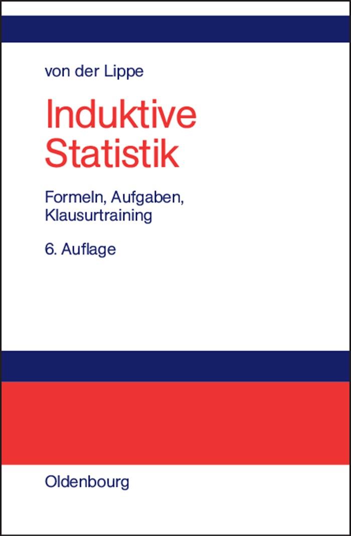 Induktive Statistik | Lippe | 6., überarb. Aufl. Reprint 2014, 2004 | Buch (Cover)