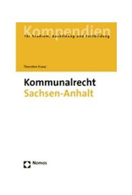 Abbildung von Franz | Kommunalrecht für Sachsen-Anhalt | 2004