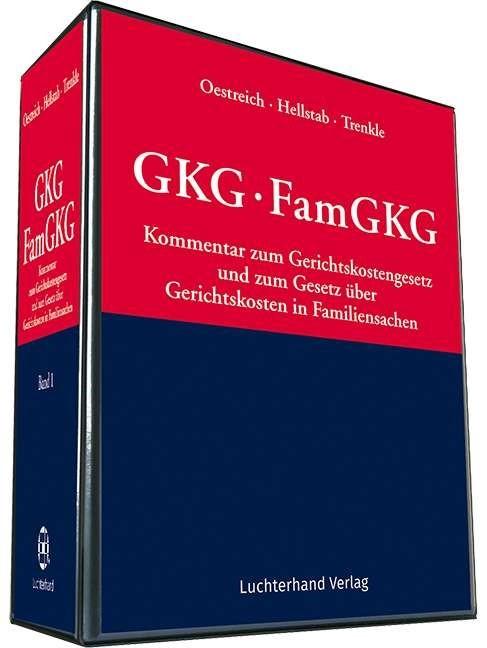 Gerichtskostengesetz / FamGKG | Oestreich / Hellstab / Trenkle | Loseblattwerk mit Aktualisierungen (Cover)