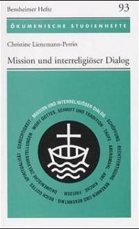 Mission und interreligiöser Dialog   Lienemann-Perrin, 2000   Buch (Cover)