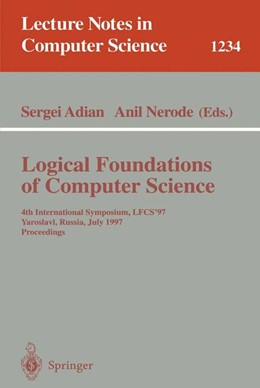 Abbildung von Adian / Nerode | Logical Foundations of Computer Science | 1997 | 4th International Symposium, L... | 1234