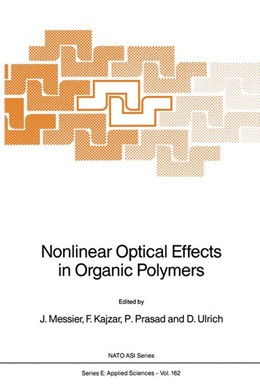 Abbildung von Messier / Prasad / Ulrich | Nonlinear Optical Effects in Organic Polymers | 1989 | 162