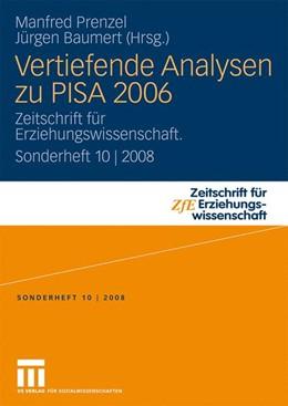 Abbildung von Prenzel / Baumert   Vertiefende Analysen zu PISA 2006   2008   Zeitschrift für Erziehungswiss...   10
