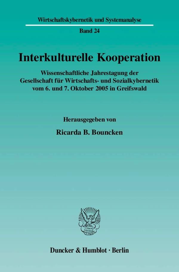 Interkulturelle Kooperation | Bouncken, 2006 | Buch (Cover)