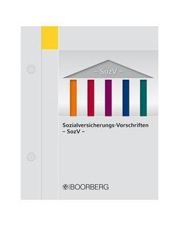 Abbildung von Krase / Schiffmann | Sozialversicherungs-Vorschriften - SozV | Loseblattwerk mit 76. Aktualisierung | 2019