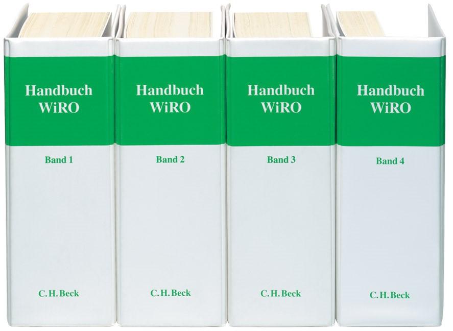 Handbuch Wirtschaft und Recht in Osteuropa: WiRO | 144. Auflage (Cover)
