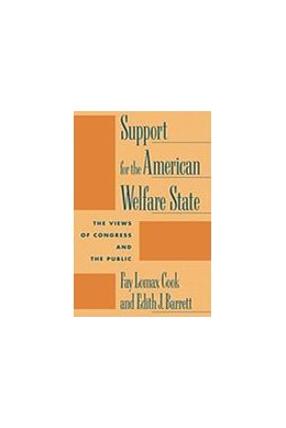 Abbildung von Cook / Barrett | Support for the American Welfare State | 1992 | The Views of Congress and the ...