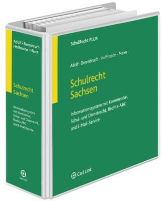 Abbildung von Adolf / Berenbruch / Hoffmann / Maier | Schulrecht Sachsen | Loseblattwerk mit Aktualisierungen | 2018