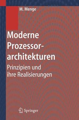 Abbildung von Menge | Moderne Prozessorarchitekturen | 2005 | Prinzipien und ihre Realisieru...
