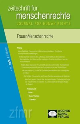 Abbildung von Debus / Kreide   FrauenMenschenrechte   1. Auflage   2009   beck-shop.de