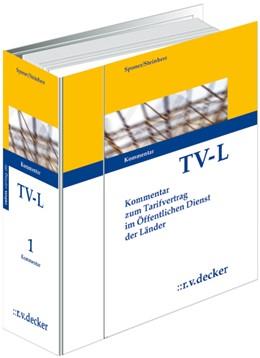 Abbildung von Sponer †/ Steinherr | Tarifvertrag für den öffentlichen Dienst der Länder (TV-L) • mit Aktualisierungsservice | 1. Auflage | 2021 | beck-shop.de