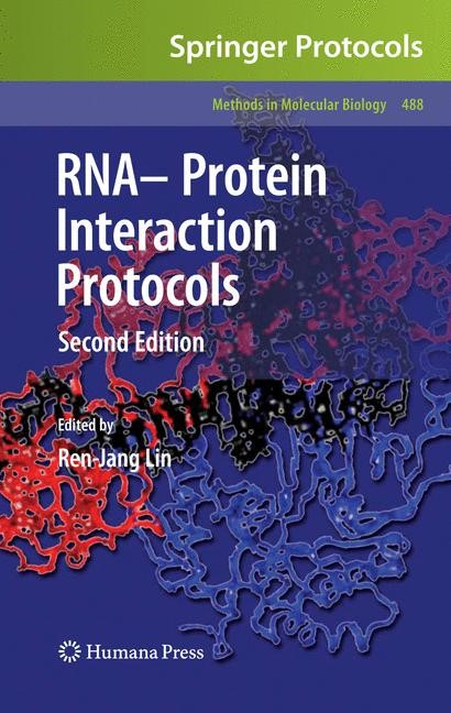 RNA-Protein Interaction Protocols | Lin, 2008 | Buch (Cover)