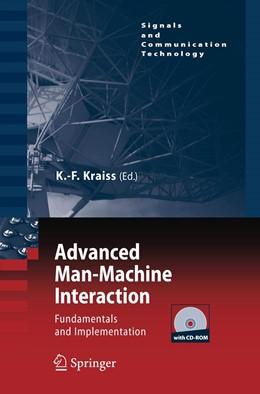 Abbildung von Kraiss | Advanced Man-Machine Interaction | 2006 | Fundamentals and Implementatio...