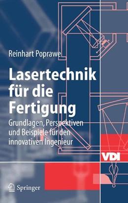 Abbildung von Poprawe | Lasertechnik für die Fertigung | 2004 | Grundlagen, Perspektiven und B...