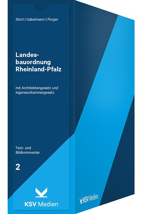 Landesbauordnung Rheinland Pfalz Lbauo Stich Gabelmann