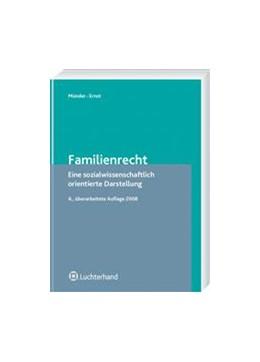Abbildung von Münder / Ernst | Familienrecht | überarbeitet | 2008 | Eine sozialwissenschaftlich or...