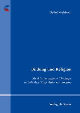 Abbildung von Melsbach | Bildung und Religion | 2007 | Strukturen paganer Theologie i... | 7
