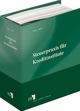 Abbildung von Dietz / Apitz | Steuerpraxis für Kreditinstitute | Loseblattwerk mit Aktualisierung 3/19 | 2019 | Besteuerung der Kreditinstitut...