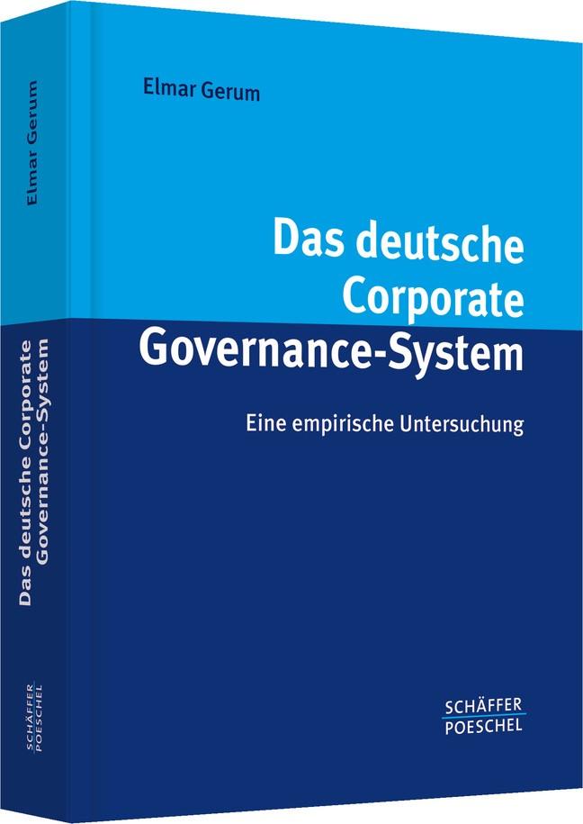 Abbildung von Gerum | Das deutsche Corporate Governance-System | 2007