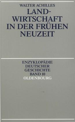 Abbildung von Achilles | Landwirtschaft in der Frühen Neuzeit | 1991