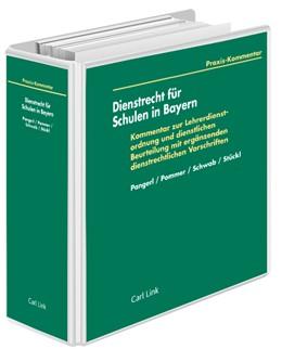 Abbildung von Pommer / Stückl / Schwab | Dienstrecht für Schulen in Bayern | Loseblattwerk mit Aktualisierungen | 2020 | Kommentar zur Lehrerdienstordn...