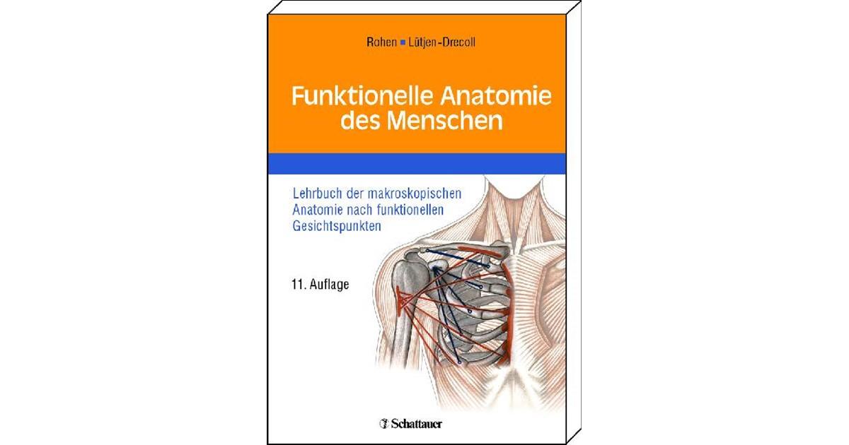 Funktionelle Anatomie des Menschen | Rohen / Lütjen-Drecoll | 11 ...