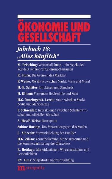 Alles käuflich, 2002 | Buch (Cover)
