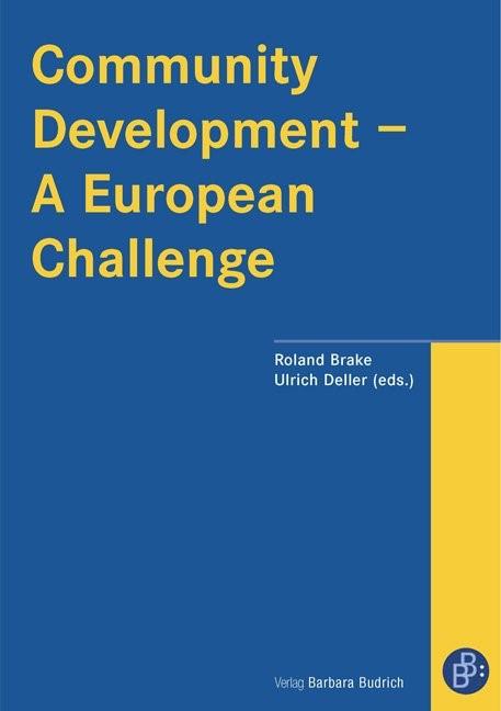 Community Development – A European Challenge | Brake / Deller, 2008 | Buch (Cover)