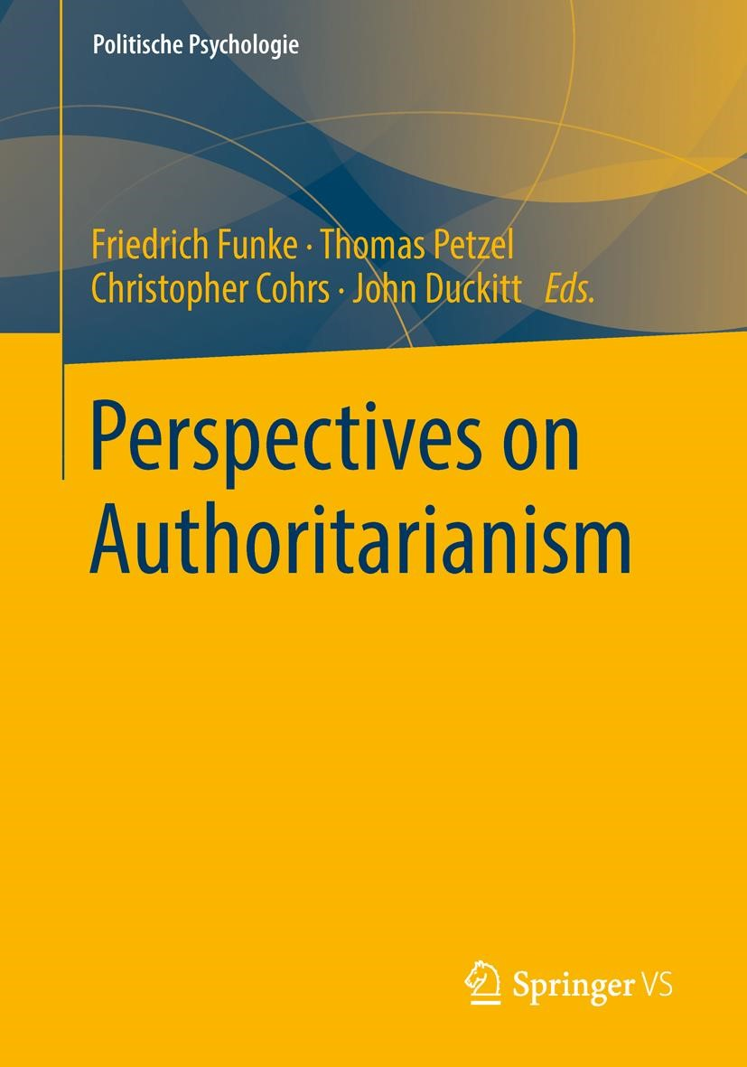 Perspectives on Authoritarianism | Funke / Petzel / Cohrs / Duckitt | 1st ed. 2020, 2020 | Buch (Cover)