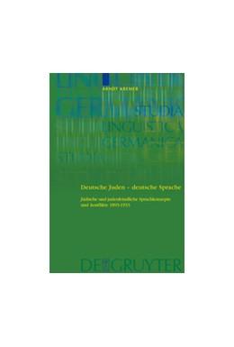 Abbildung von Kremer | Deutsche Juden - deutsche Sprache | 2007 | Jüdische und judenfeindliche S... | 87
