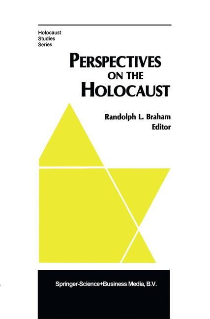 Perspectives on the Holocaust | Braham, 1983 | Buch (Cover)