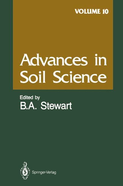 Abbildung von Advances in Soil Science   1989