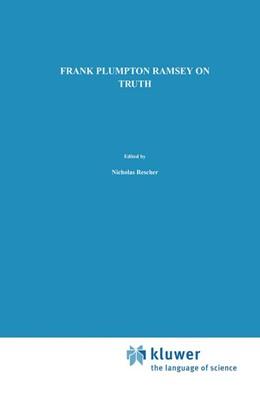 Abbildung von Ramsey / Rescher / Majer   On Truth   1990   Original Manuscript Materials ...   16