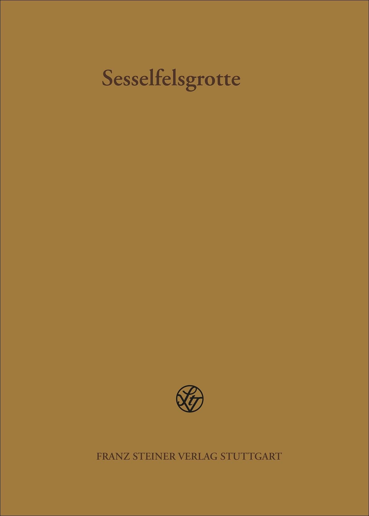Abbildung von Böhner | Die Schicht E3 der Sesselfelsgrotte und die Funde aus dem Abri I am Schulerloch | 2009
