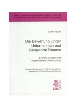 Abbildung von Müller | Die Bewertung junger Unternehmen und Behavioral Finance | 2003 | Eine theoretische und experime... | 23