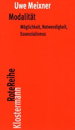 Abbildung von Meixner | Modalität | 2008 | Möglichkeit, Notwendigkeit, Es... | 26
