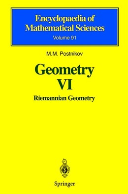 Abbildung von Postnikov | Geometry VI | 2001 | Riemannian Geometry | 91