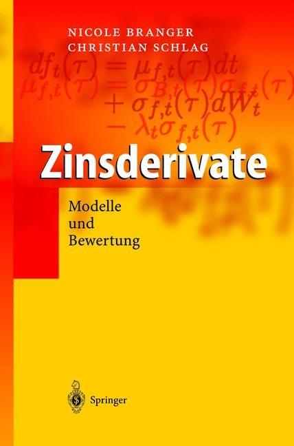 Zinsderivate | Branger / Schlag, 2004 | Buch (Cover)