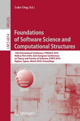 Abbildung von Ong | Foundations of Software Science and Computational Structures | 2010 | 13th International Conference,... | 6014