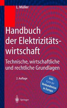 Abbildung von Müller | Handbuch der Elektrizitätswirtschaft | 2. Aufl. | 2000 | Technische, wirtschaftliche un...