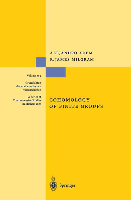 Cohomology of Finite Groups | Adem / Milgram | 2nd ed., 2003 | Buch (Cover)
