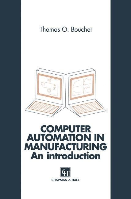 Computer Automation in Manufacturing | Boucher, 1995 | Buch (Cover)