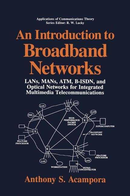 An Introduction to Broadband Networks | Acampora, 1994 | Buch (Cover)