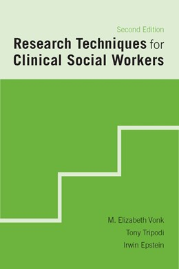 Abbildung von Vonk / Tripodi / Epstein | Research Techniques for Clinical Social Workers | second edition | 2007