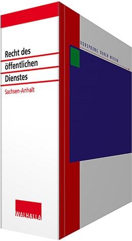 Abbildung von Wallhalla Fachredaktion | Recht des öffentlichen Dienstes Sachsen-Anhalt • mit Aktualisierungsservice | 1. Auflage | 2020 | beck-shop.de