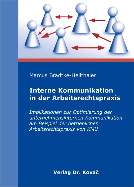 Interne Kommunikation in der Arbeitsrechtspraxis | Bradtke-Hellthaler, 2008 | Buch (Cover)