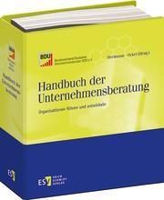 Handbuch der Unternehmensberatung • mit Aktualisierungsservice | Niedereichholz / Niedereichholz / Staude | Loseblattwerk mit 32. Aktualisierung, 2013 (Cover)
